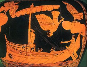 Stay strong like Odysseus