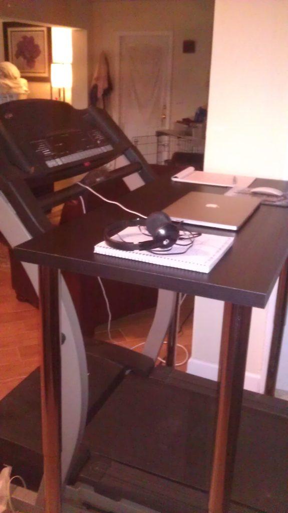 Treadmill Desk from IKEA parts